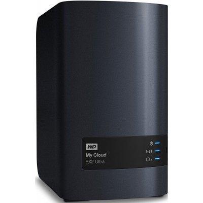 Сетевой накопитель NAS Western Digital My Cloud EX2 Ultra 8TB WDBSHB0080JCH-EEUE (WDBSHB0080JCH-EEUE) жесткий диск пк western digital wd40ezrz 4tb wd40ezrz