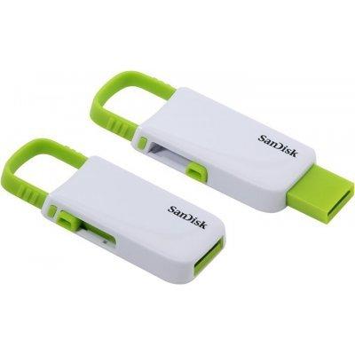 USB накопитель Sandisk SDCZ59-008G-B35WG (SDCZ59-008G-B35WG)USB накопители Sandisk<br>SanDisk Cruzer U (SDCZ59-008G-B35WG) 8Gb USB2.0 White/Green<br>