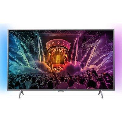 ЖК телевизор Philips 49 49PUS6401/60 серебристый (49PUS6401/60)ЖК телевизоры Philips<br>Телевизор LED Philips 49 49PUS6401/60 серебристый/Ultra HD/1000Hz/DVB-T/DVB-T2/DVB-C/USB/WiFi/Smart TV (RUS)<br>