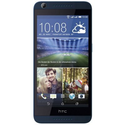 Смартфон HTC Desire 626g dual sim голубой (99HAJA006-00) смартфон fly fs512 nimbus 10 4g lte 8gb black