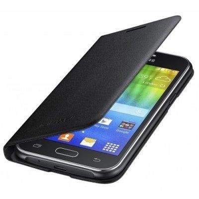 Чехол для смартфона Samsung для Galaxy J1 чёрный EF-FJ100BBEGRU (EF-FJ100BBEGRU) чехол для смартфона samsung для galaxy j1 2016 ef wj120p черный ef wj120pbegru ef wj120pbegru