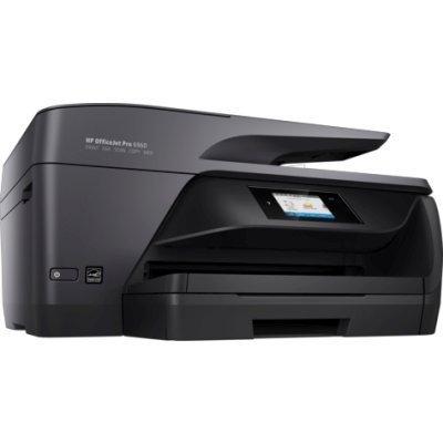 Цветной струйный МФУ HP OfficeJet Pro 6960 (J7K33A) (J7K33A)Цветные струйные МФУ HP<br>3 в 1, струйный, печать цветная, максимальный формат А4, скорость ч/б печати 18 стр/мин, разъемы и средства связи: Ethernet (RJ-45), USB<br>