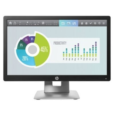 Монитор HP 20 EliteDisplay E202 (M1F41AA) (M1F41AA)Мониторы HP<br>ЖК-монитор с диагональю 20 тип матрицы экрана TFT IPS разрешение 1600x900 (16:9) подключение: VGA, HDMI, DisplayPort яркость 250 кд/м2 контрастность 1000:1 время отклика 7 мс USB-хаб<br>