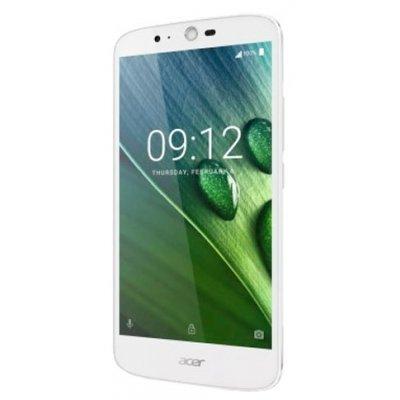 Смартфон Acer Liquid Zest Plus белый (HM.HVQEU.002)Смартфоны Acer<br>смартфон, Android 6.0<br>поддержка двух SIM-карт<br>экран 5.5, разрешение 1280x720<br>камера 13 МП, лазерный автофокус<br>память 16 Гб, слот для карты памяти<br>3G, 4G LTE, LTE-A, Wi-Fi, Bluetooth, GPS<br>аккумулятор 5000 мАч<br>вес 175 г, ШxВxТ 77.40x154.30x9.75 мм<br>