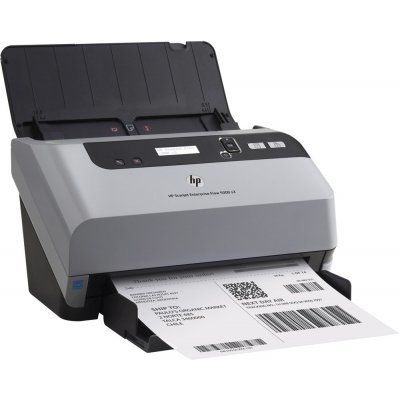 Сканер HP Scanjet Enterprise Flow 5000 s3 (L2751A)Сканеры HP<br>HP Scanjet Enterprise Flow 5000 s3 (CIS, A4, support sheets up to 3098 mm, 600 dpi, 48 bit, USB, LCD, ADF 50 sheets, 30(60) ppm, Duplex, 1y warr, replace L2738A)<br>