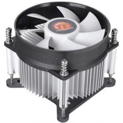 Кулер для процессора Thermaltake CLP0556 (CLP0556)Кулеры для процессоров Thermaltake<br>Кулер Thermaltake CLP0556 для процессора Intel 1155/1156 (TDP 95W, Al, 1900-2300 об/мин, 92x92x25, 22dBA, 3pin)<br>