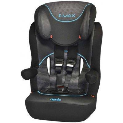 Детское автокресло Nania Imax SP FST (pop black) от 9 до 36 кг (1/2/3) черный (907601)