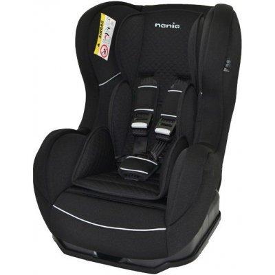 Детское автокресло Nania Cosmo SP LTD (quilt black) от 0 до 18 кг (0+/1) черный/серый (88887)