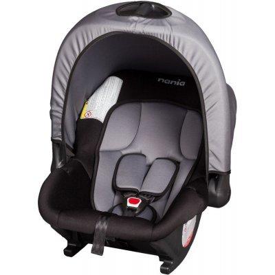 Детское автокресло Nania Baby Ride ECO (rock grey) от 0 до 13 кг (0/0+) серый/черный (374950) авто бустер детский nania topo eco rock grey от 15 до 36 кг 2 3 серый черный 227950