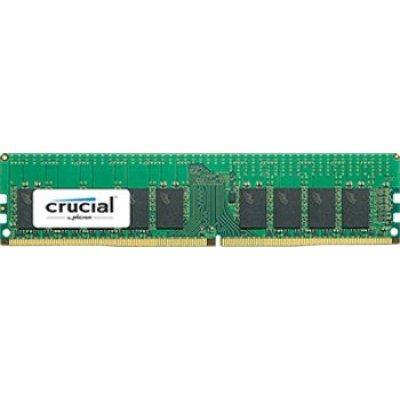Модуль оперативной памяти ПК Crucial CT16G4RFD424A 16Gb DDR4 (CT16G4RFD424A)Модули оперативной памяти ПК Crucial<br>Crucial 16GB DDR4 2400 MT/s (PC4-19200) CL17 DR x4 ECC Registered DIMM 288pin<br>