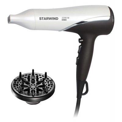 Фен Starwind SHP7817 темно-коричневый/белый (SHP7817)Фены StarWind <br>Фен Starwind SHP7817 2200Вт темно-коричневый/белый<br>