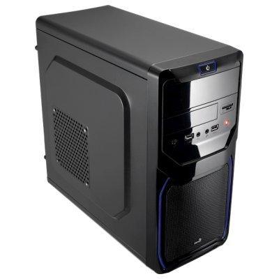Корпус системного блока Aerocool Qs-183 Advance Blue (4713105955484) корпус системного блока aerocool v3x advance evil blue edition 600w black en57585