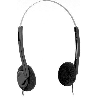 Компьютерная гарнитура Defender Aura 99 (63099)Компьютерные гарнитуры Defender<br>Гарнитура Defender Aura 99 черный (кабель 1.8м)<br>