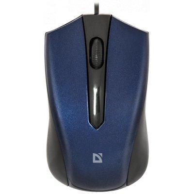 Мышь Defender Accura MM-950 синий (52952)Мыши Defender<br>Проводная оптическая мышь Accura MM-950 синий,3 кнопки,1000dpi DEFENDER<br>