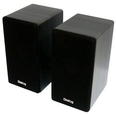 Компьютерная акустика Dialog AST-20UP черный (AST-20UP black)Компьютерная акустика Dialog<br>Колонки Dialog Stride AST-20UP BLACK - 2.0, 6W RMS, черные, питание от USB<br>
