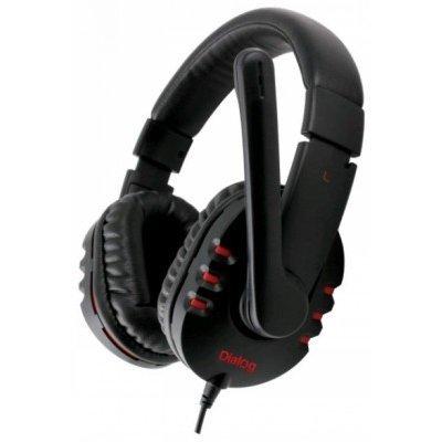 Компьютерная гарнитура Dialog HS-A30MV черный (HS-A30MV Black) гарнитура dialog blues hs 14bt black