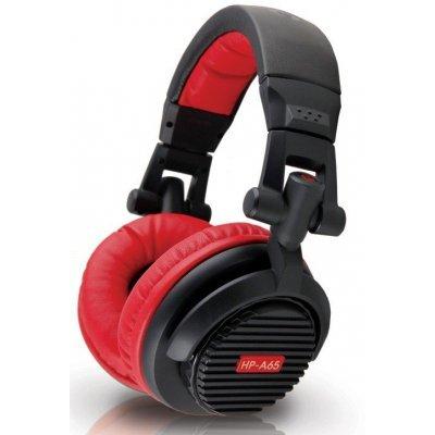 Наушники Dialog Aria HP-A65 черный/красный (HP-A65 black-red)Наушники Dialog<br>Наушники Dialog Aria HP-A65 Black-Red<br>