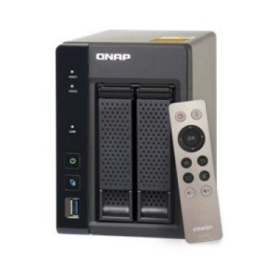 Сетевой накопитель NAS Qnap TS-253A-4G (TS-253A-4G)Сетевые накопители NAS Qnap<br>Сетевой накопитель QNAP TS-253A-4G Сетевой RAID-накопитель, 2 отсека для HDD, HDMI-порт. Четырехъядерный Celeron N3150 1,6 ГГц<br>