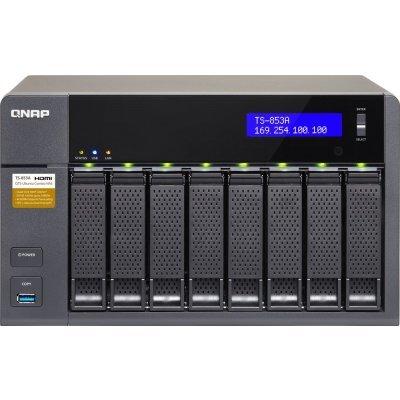 Сетевой накопитель NAS Qnap TS-853A-4G (TS-853A-4G)  сетевой накопитель nas qnap d4 qnap d4