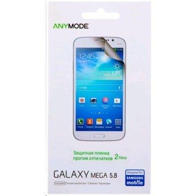 Пленка защитная для смартфонов Samsung для Galaxy Mega 5.8 anti finger (F-BYSP000RAF)Пленки защитные для смартфонов Samsung<br>Защитная пленка aM [LCD Film] Mega 5.8/I9152 (F-BYSP000RAF) anti finger, 2 шт<br>