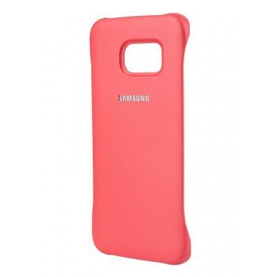 Чехол для смартфона Samsung для S6 Edge G925, коралловый (EF-YG925BPEGRU) (EF-YG925BPEGRU)Чехлы для смартфонов Samsung<br>Для Samsung Galaxy S6 Edge. Красный. Полиуретан.<br>