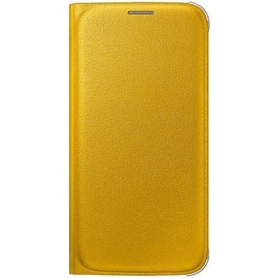 Чехол для смартфона Samsung для Galaxy S6 FlipWallet желтый (EF-WG920PYEGRU) (EF-WG920PYEGRU)Чехлы для смартфонов Samsung<br>Для Samsung Galaxy S6. Желтый. Полиуретан.<br>