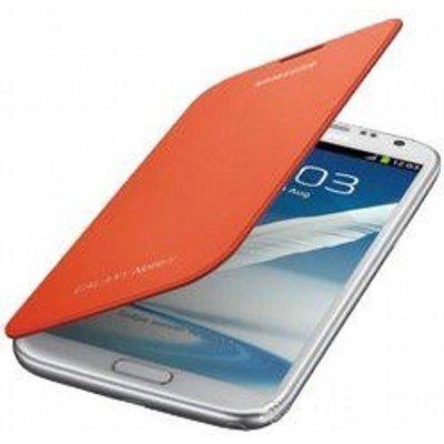 Чехол для смартфона Samsung для N7100 оранжевый (EFC-1J9FOEGSER) (EFC-1J9FOEGSER)Чехлы для смартфонов Samsung<br>Чехол-книжка N7100, оранжевый<br>