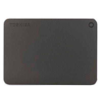 Внешний жесткий диск Toshiba HDTW110EB3AA (HDTW110EB3AA)Внешние жесткие диски Toshiba<br>Внешний жесткий диск 1Tb Toshiba Canvio Premium 2,5 USB3.0 Gray (HDTW110EB3AA)<br>
