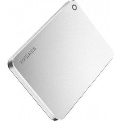 Внешний жесткий диск Toshiba HDTW110EC3AA (HDTW110EC3AA)Внешние жесткие диски Toshiba<br>Внешний жесткий диск 1Tb Toshiba Canvio Premium 2,5 USB3.0 Silver (HDTW110EC3AA)<br>