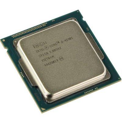 Процессор Intel Core i5-4590S Haswell (3000MHz, LGA1150, L3 6144Kb) OEM (CM8064601561214SR1QN) процессор intel core i3 4170 haswell 3700mhz lga1150 l3 3072kb oem cm8064601483645sr1pl