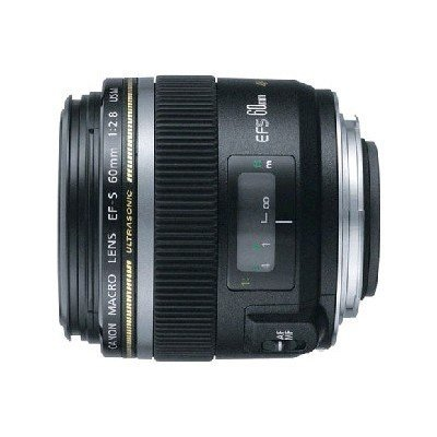Объектив для фотоаппарата Canon EF-S 60mm f/2.8 Macro USM (0284B007)