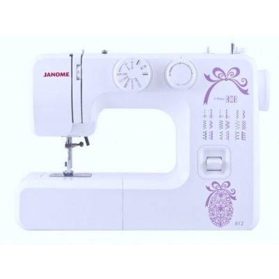 Швейная машина Janome 812 белый (812) швейная машина janome dresscode