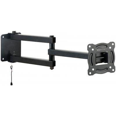 Кронштейн для ТВ и панелей Kromax AUTO-ARM-1 черный (20228)Кронштейн для ТВ и панелей Kromax<br>Кронштейн для телевизора Kromax AUTO-ARM-1 черный 15-28 макс.20кг настенный поворот и наклон<br>