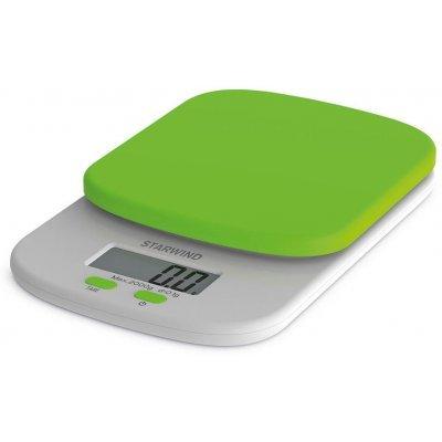 Весы кухонные Starwind SSK2155 зеленый (SSK2155)Весы кухонные StarWind <br>Весы кухонные электронные Starwind SSK2155 макс.вес:2кг зеленый<br>