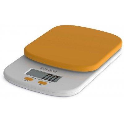 Весы кухонные StarWind SSK2158 оранжевый (SSK2158)Весы кухонные StarWind <br>Весы кухонные электронные Starwind SSK2158 макс.вес:2кг оранжевый<br>