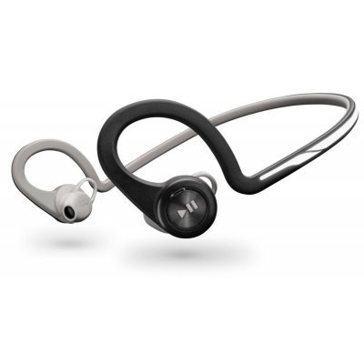 Bluetooth-гарнитура Plantronics BackBeat Fit вкладыши черный/серебристый (200480-05)Bluetooth-гарнитуры Plantronics<br>Гарнитура Беспроводная Plantronics BackBeat Fit BT3.0 вкладыши черный/серебристый<br>