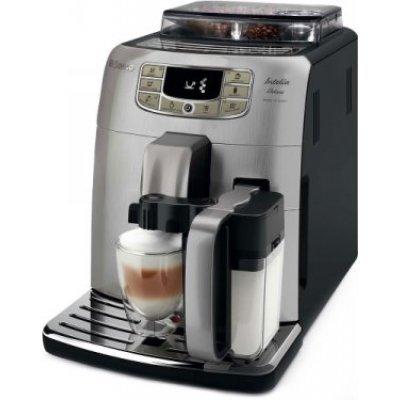 Кофемашина Philips Saeco Intelia Deluxe HD8889/19 серебристый (HD8889/19)Кофемашины Philips<br>Кофемашина Philips Saeco Intelia Deluxe HD8889/19 1850Вт серебристый<br>