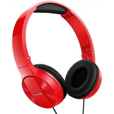 Наушники Pioneer SE-MJ503 красный (SE-MJ503-R)Наушники Pioneer<br>Наушники мониторы Pioneer SE-MJ503-R 1.2м красный проводные (оголовье)<br>