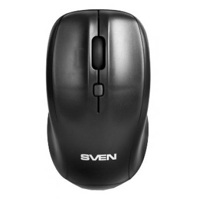 Мышь SVEN RX-305 Wireless черная (SV-03200305W) икона янтарная богородица скоропослушница кян 2 305