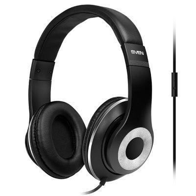 где купить Компьютерная гарнитура SVEN AP-930M чёрный (SV-013608) по лучшей цене