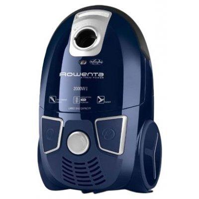 Пылесос Rowenta RO5441R1 синий (2210760233)Пылесосы Rowenta<br>пылесос<br>сухая уборка<br>с мешком для сбора пыли<br>пылесборник на 4 л<br>работа от сети<br>потребляемая мощность 2000 Вт<br>