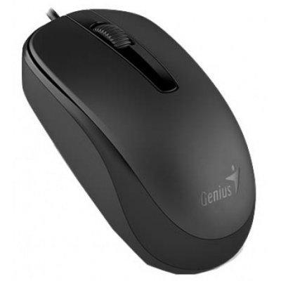 Мышь Genius DX-130 чёрная (31010117100) мыши genius проводная оптическая мышь dx 130