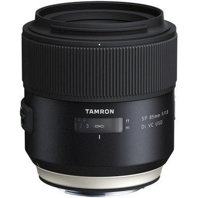 Объектив для фотоаппарата Tamron SP AF 85mm f/1.8 Di VC USD Canon EF (F016E) объектив для фотоаппарата tamron объектив sp af 90мм f 2 8 di макро vc usd для nikon f017n