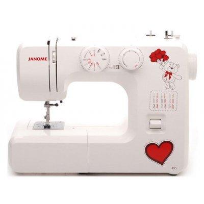 Швейная машина Janome 495 белый (Janome 495) швейная машинка janome sew mini deluxe