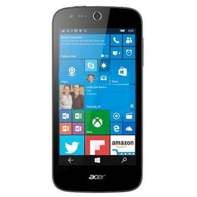 Смартфон Acer Liquid M330 8Gb белый (HM.HTHEU.001)Смартфоны Acer<br>Смартфон Acer Liquid M330 8Gb белый моноблок 3G 4G 2Sim 4.5 480x854 MS Windows 10 5Mpix WiFi BT GPS GSM900/1800 GSM1900 TouchSc MP3 FM microSD<br>