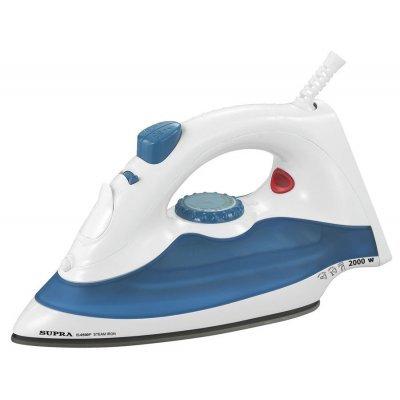 Утюг Supra IS-0500P белый/синий (10513)Утюги Supra<br>Утюг Supra IS-0500P 1700Вт белый/синий<br>