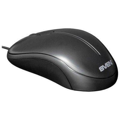 Мышь SVEN CS-301 (SV-006105)Мыши SVEN<br>Мышь SVEN CS-301, 2+1(колесо прокрутки), 800 dpi, симметричная<br>