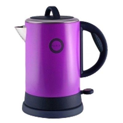 Электрический чайник Великие реки Чая-8А фиолетовый (Чая-8А)Электрические чайники Великие реки<br>Чайник электрический Великие Реки Чая-8А 1800 Вт, 1,8 л, цвет фиолетовый, нержавеющая сталь<br>