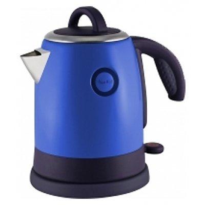 Электрический чайник Великие реки Чая-6А синий (Чая-6А)Электрические чайники Великие реки<br>Чайник электрический Великие Реки Чая-6А 1400 Вт, 1,2 л, цвет синий, нержавеющая сталь<br>