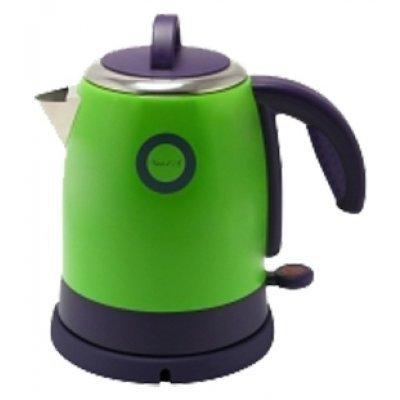 Электрический чайник Великие реки Чая-1А зеленый (Чая-1А)Электрические чайники Великие реки<br>Чайник электрический Великие Реки Чая-1А 1400 Вт, 1,2 л, цвет зеленый, нержавеющая сталь<br>